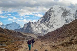 Taboche peak in the background. Shot was taken near Laboche village. Photo: Ujjwal Rai