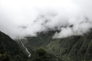 Green valley seen from Tengboche Monastery. Photo: Sharan Karki