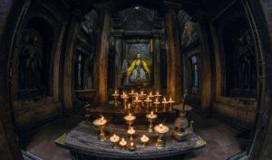 Inside the atrium of the ancient Mahabuddha Temple Patan. Photo: Photo Khichuwa