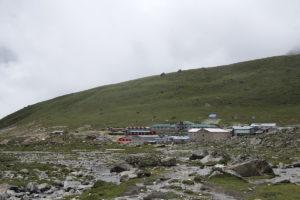 Lobuche village situated at 4910m. Photo: Sharan Karki