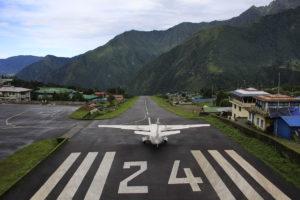 Lukla Airport 2840m. Photo: Sharan Karki