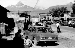 Old Pokhara, Bag Bazar, Kaski District, Nepal circa 1973-74 - Old Photos Of Nepal