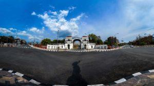 Singha Durbar panoramic view during Lockdown. Photo: Photo Khichuwa