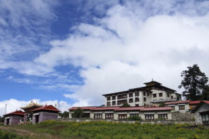 Tengboche Monastery at 3867m. Photo: Sharan Karki