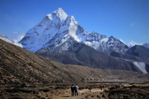 Another face of Ama Dablam from Pheriche village. Photo: Sharan Karki