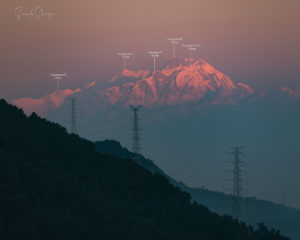 Annapurna range as seen from Kathmandu. Photo: Samde Sherpa