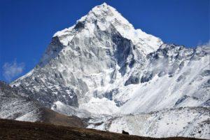 West ridge of Ama Dablam near Somare village. Photo: Sharan Karki
