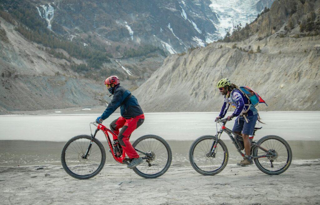 Cycling-in-Manang-Nepal8thwonder, Winter in Manang
