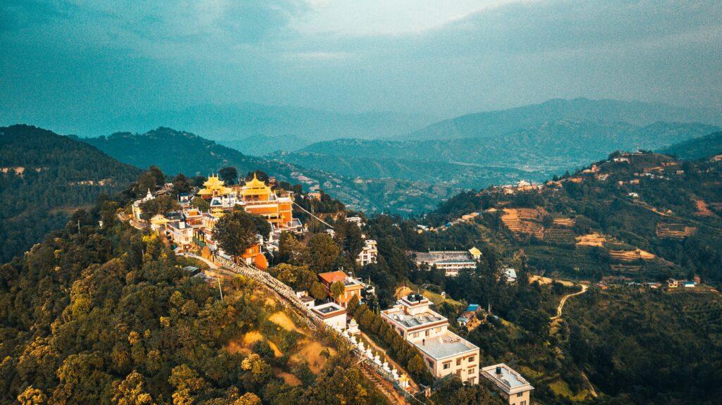 Pharping, Nepal, short hiking trails in Kathmandu valley