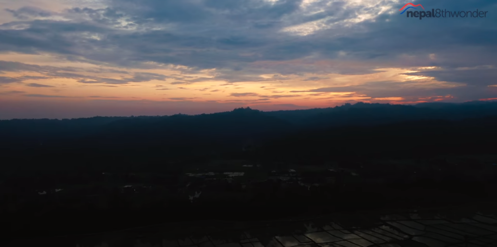 SANDAKPUR- SUNSET IN TERAI