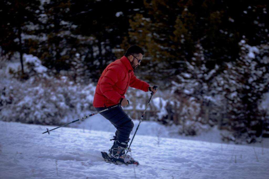 Skiing-in-Manang-Winter-in-Manang