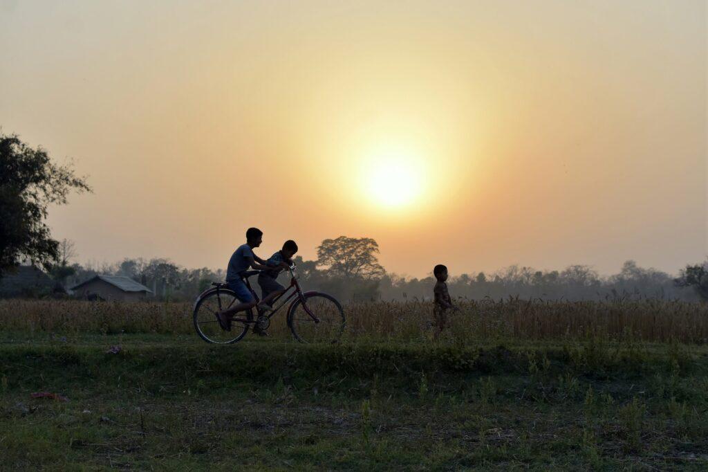 Sunset in Bardiya - Bardiya National Park