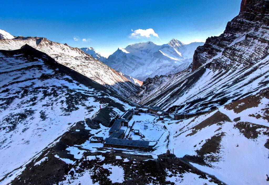Thorong-High-Camp-Annapurna-Circuit- Winter in Manang