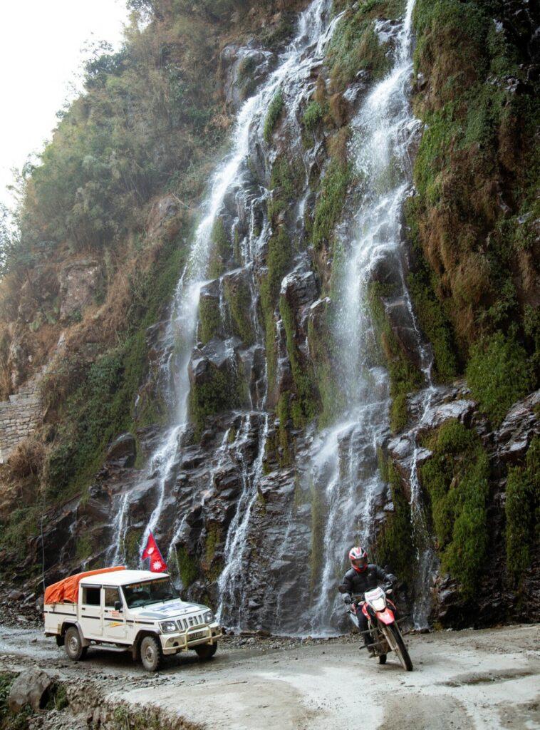 Manang, Waterfalls, Nepal8thwonder