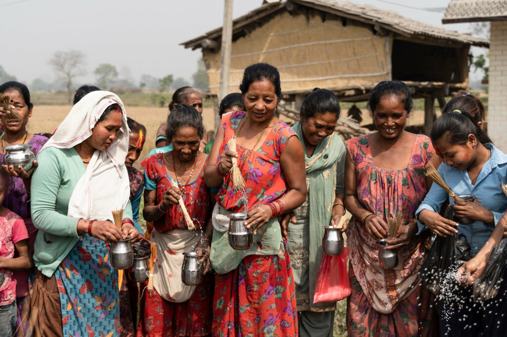 Women at Bardiya National Park