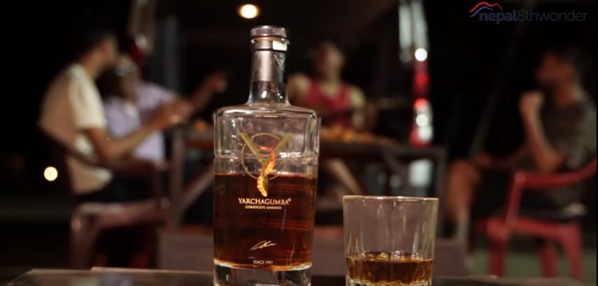 Yarshagumba whiskey