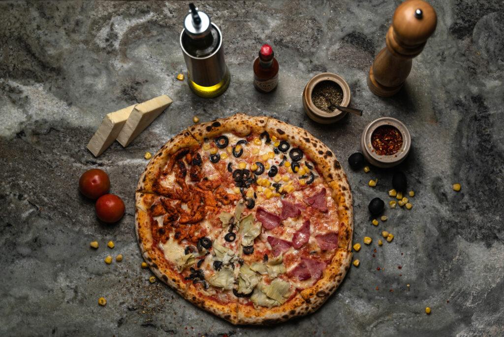 Firewood Pizza, Bricks Cafe