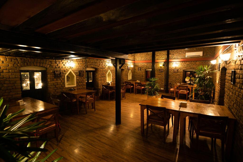Indoor Dining at Bricks Cafe