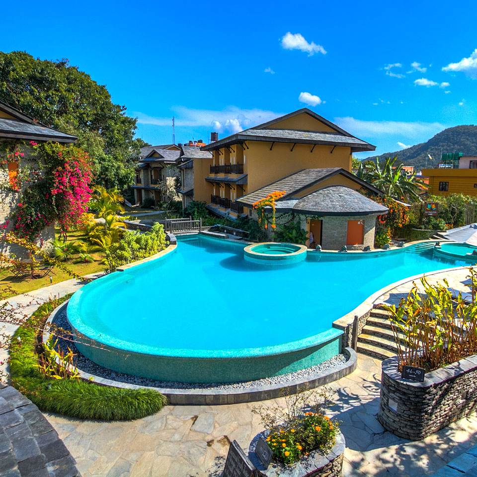 Temple Tree Resort and Spa- Best Hotels in Pokhara